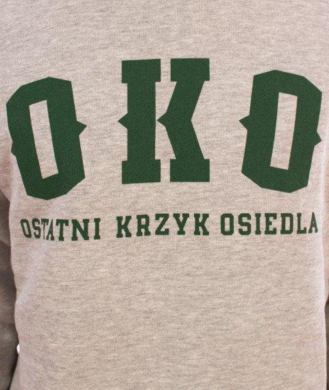 Biuro Ochrony Rapu-OKO New Bluza Jasny Szary