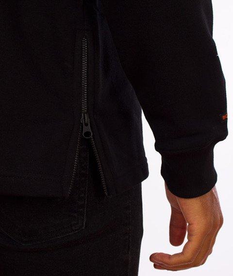 Biuro Ochrony Rapu-Premium Zip Bluza Kaptur Czarna