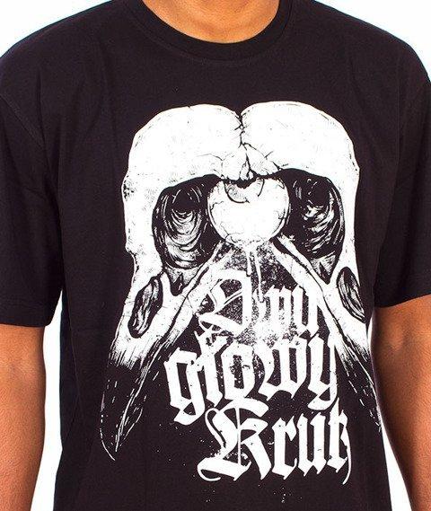 Brain Dead Familia-Dwugłowy Kruk T-shirt Czarny