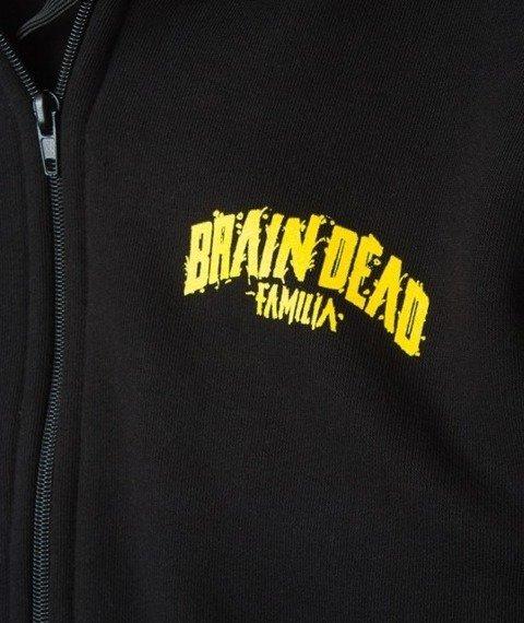 Brain Dead Familia-Fam Bluza Zip Czarny