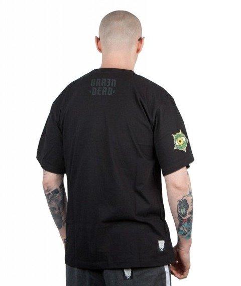 Brain Dead Familia-Kalamari T-shirt Czarny