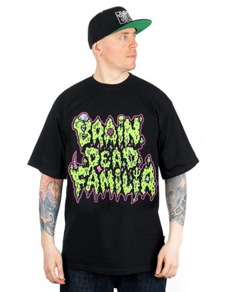 Brain Dead Familia-Toxic T-shirt Czarny
