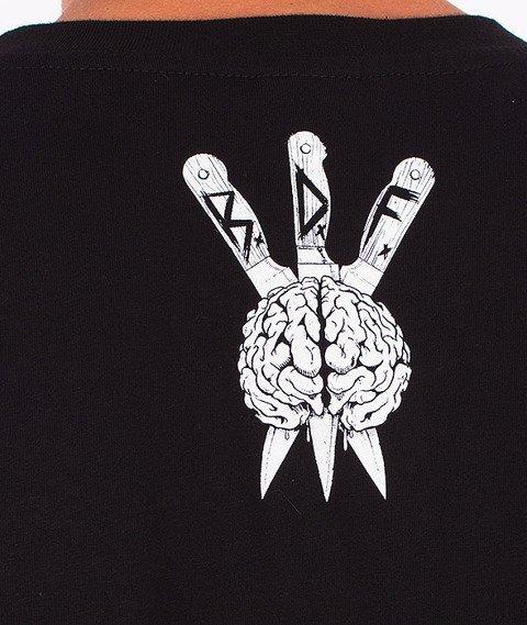 Brain Dead Familia-Zombie Hunter T-shirt Czarny