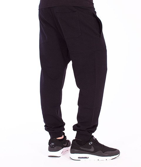 Carhartt-College Sweat Pants Black/White