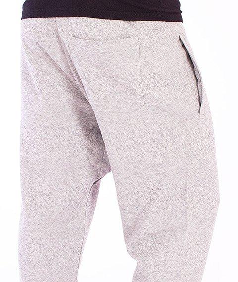 Carhartt-College Sweat Pants Grey Heather/Cordovan