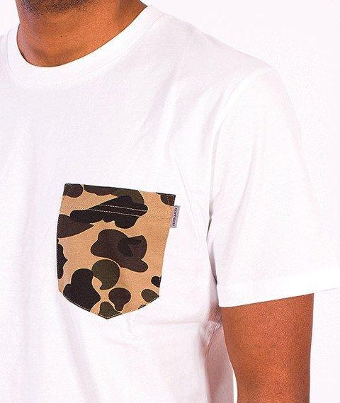 Carhartt-Contrast Pocket T-Shirt  White/Camo Duck