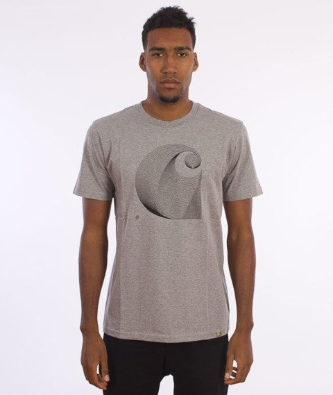 Carhartt-Dimensions T-Shirt Grey Heather/Black
