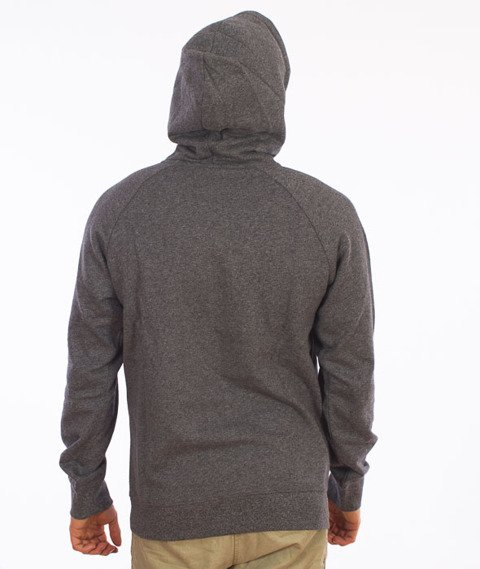 Carhartt-Hooded Hoolbrook Sweat Black Noise Heather