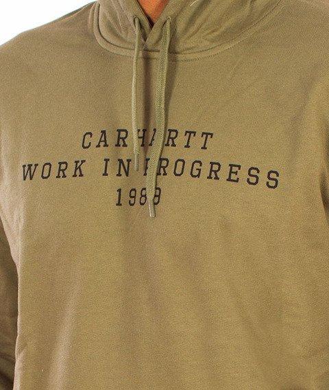 Carhartt-Imprint Hooded Bog/Black