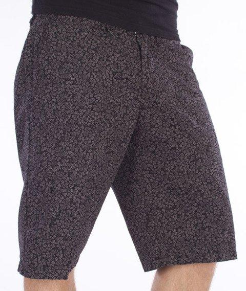 Carhartt-Johnson Krótkie Spodnie Sparrow/Black Flora Print