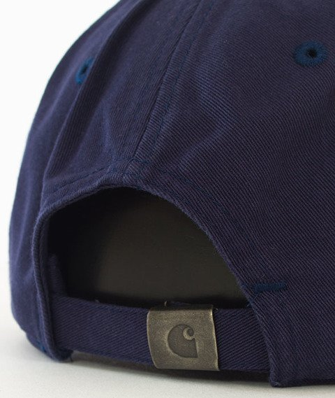 Carhartt-Madison Cap Snapback Twill Blue