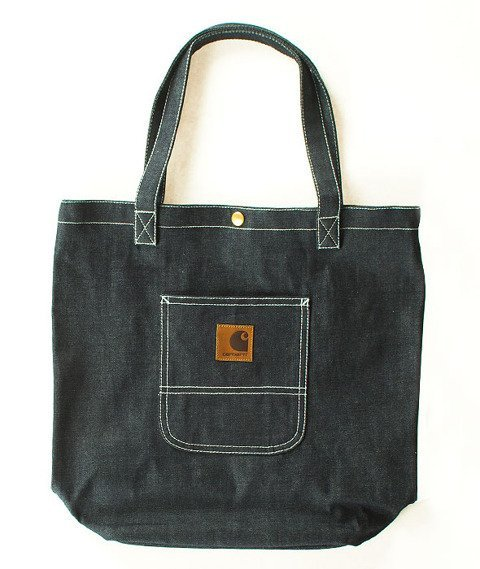 Carhartt-Simple Tote Bag Denim Blue Rigid