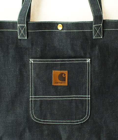 Carhartt-Simple Tote Bag Denim Blue Rigid