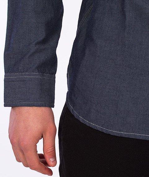 Carhartt- State Shirt Blue Rinsed