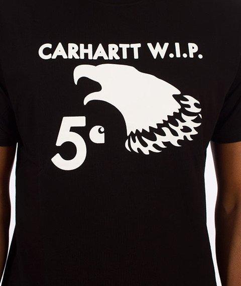 Carhartt WIP-5 Cent Eagle T-Shirt Black/White