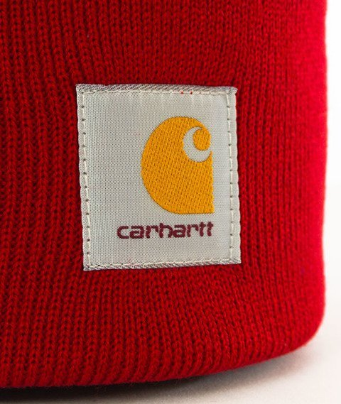 Carhartt WIP-Acrylic Watch Hat Blast Red