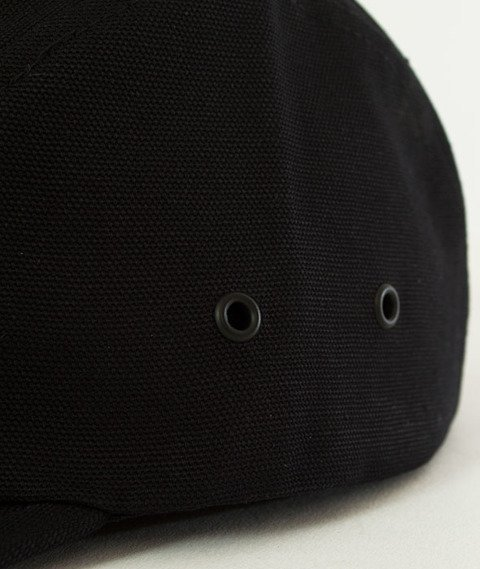 Carhartt WIP-Backley Canvas 5-Panel Cap Black