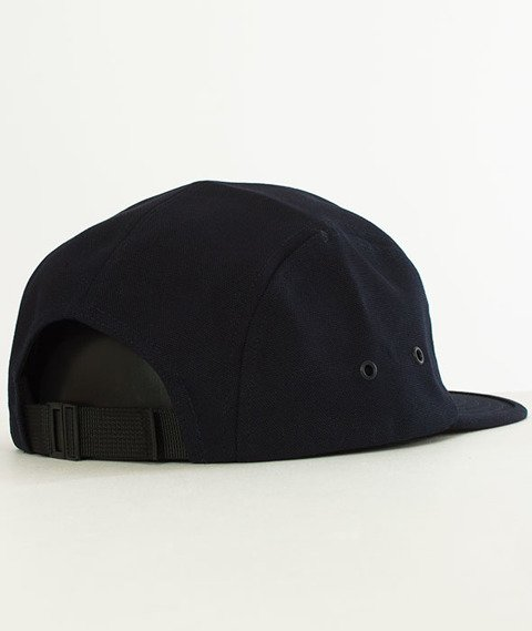 Carhartt WIP-Backley Canvas 5-Panel Cap Dark Navy