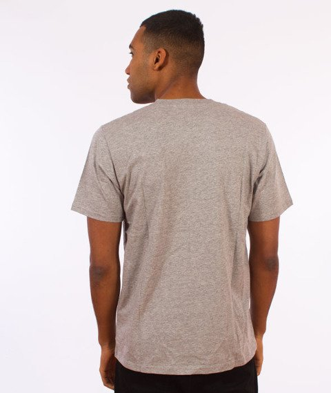 Carhartt WIP-Base T-Shirt Grey Heather/Black