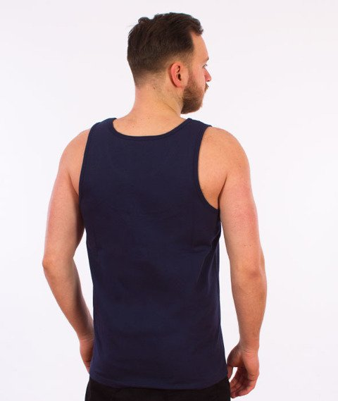 Carhartt WIP-Chase Tank Top Blue
