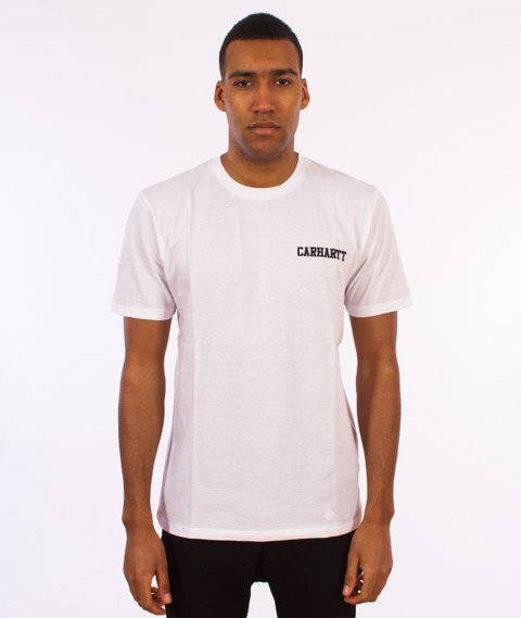 Carhartt WIP-College Script T-Shirt White/Black