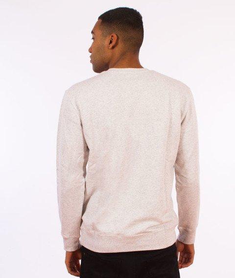 Carhartt WIP-College Sweatshirt Bluza Ash Heather/Chili