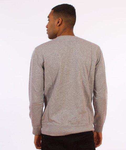 Carhartt WIP-College Sweatshirt Bluza Grey Heather/White