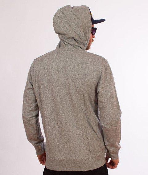 Carhartt WIP-Hooded Division Sweat Bluza Kaptur Grey Heather/Multicolor