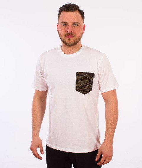 Carhartt WIP-Lester Pocket T-Shirt White/Camo Tiger