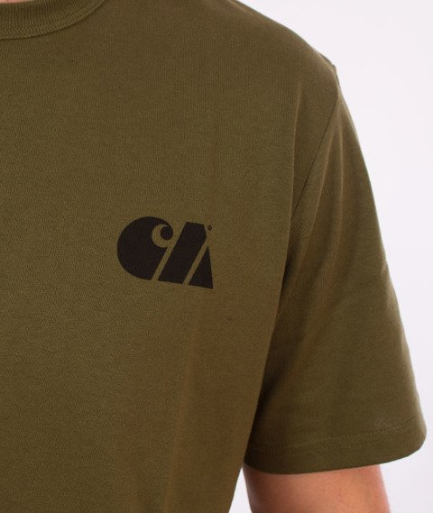 Carhartt WIP-Military Training T-Shirt Rover Green/Black