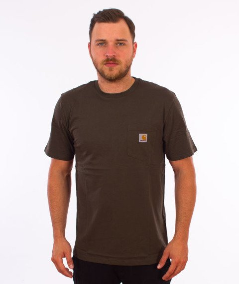 Carhartt WIP-Pocket T-Shirt Cypress