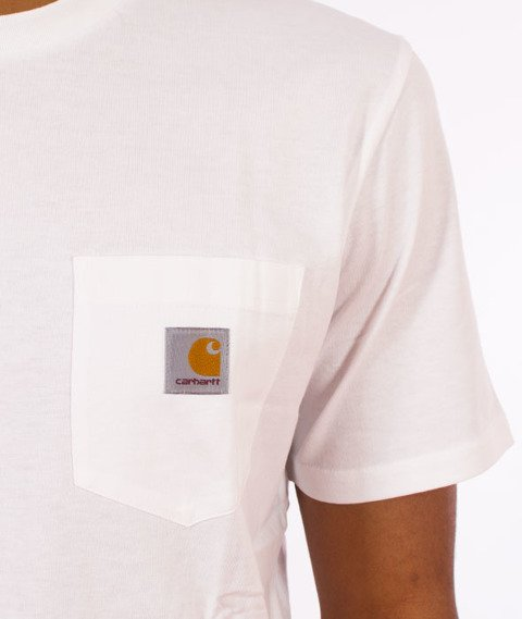 Carhartt WIP-Pocket T-Shirt White