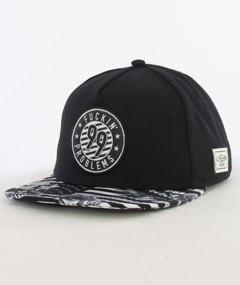 Cayler & Sons-99 FCKN Problems Classic Cap Snapback Black/White