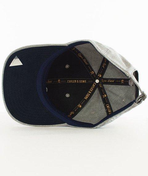 Cayler & Sons-BK Fastball Curved Strapback Grey