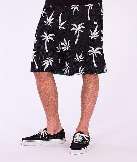 Cayler&Sons-Beach Budz Reversible Mesh Shorts Black/White-Mint/Black