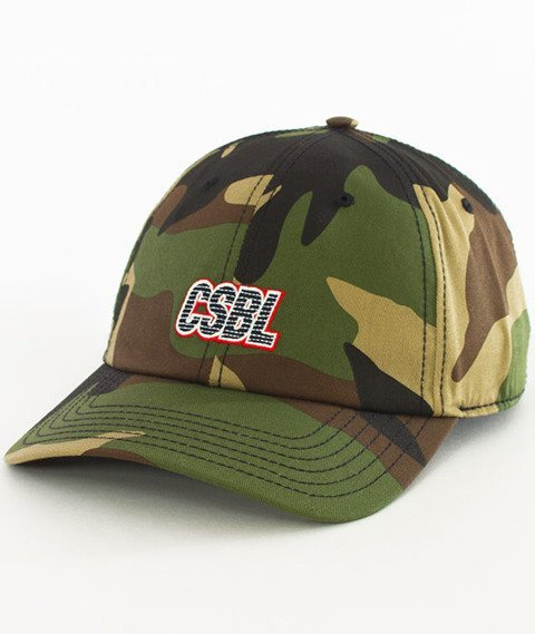 Cayler & Sons-Bucktown Curved Strapback Camo