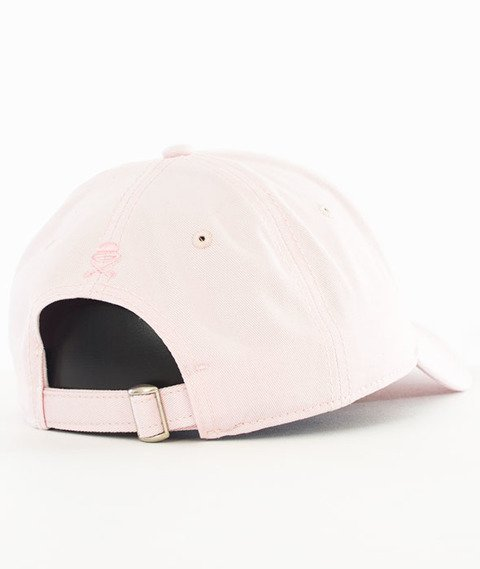 Cayler & Sons-Chosen One Curved Strapback Pale Pink