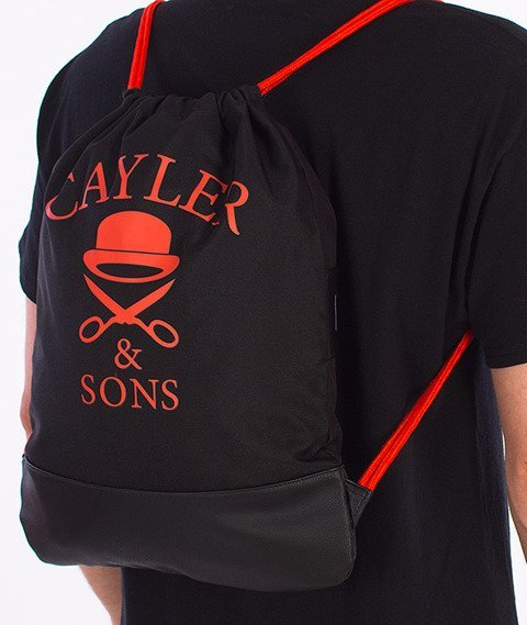 Cayler & Sons-Don't Fuck Gym Bag Black/Orange/Grey