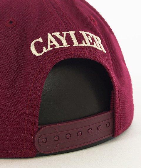 Cayler & Sons-Faith Snapback Maroon/Black