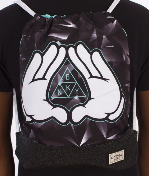 Cayler & Sons-Infinity Gym Bag Black/Mint/White