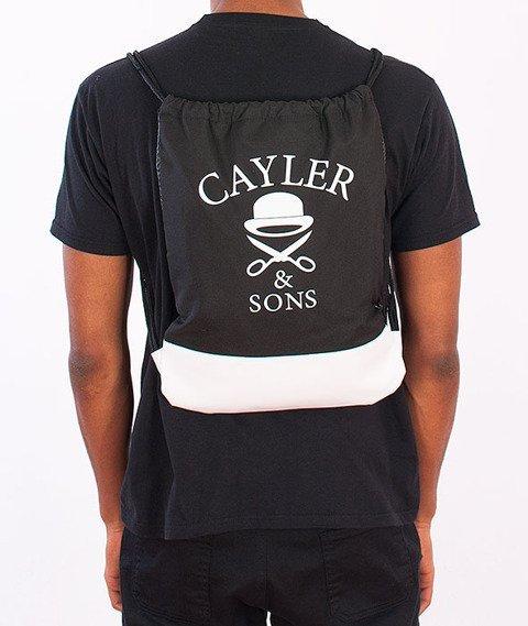Cayler & Sons-No.1 Gym Bag Black/White