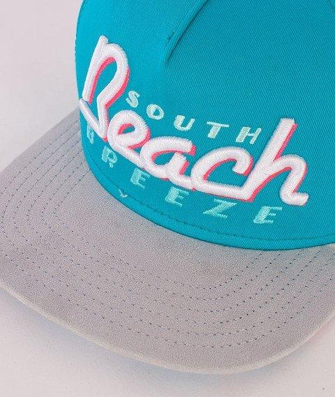 Cayler & Sons-SB Breeze Cap Teal/Grey/Pink/White