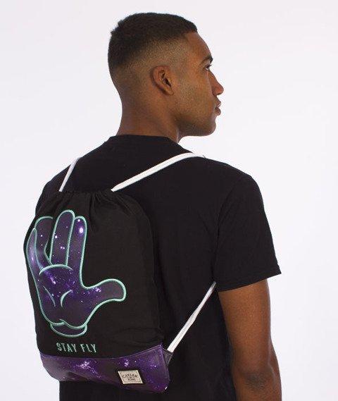 Cayler & Sons-Stay Fly Gym Bag Black/Purple