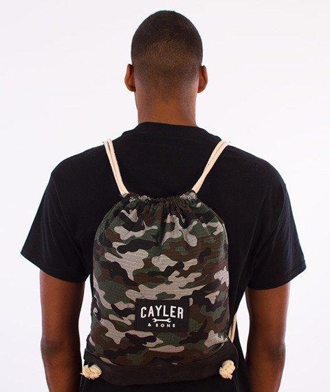 Cayler & Sons-Tolin' Gym Bag Forest Woodland/Black/White