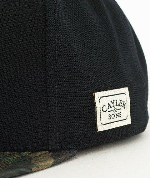 Cayler & Sons-WL BKNY Snapback Black/Camo FLower