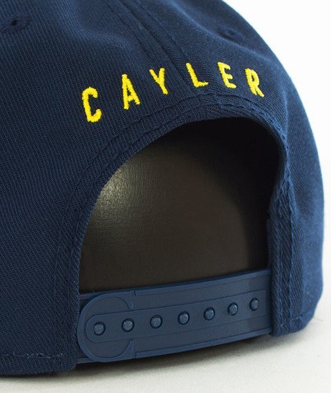 Cayler & Sons-WL Brooklyn ATHL Snapback Navy
