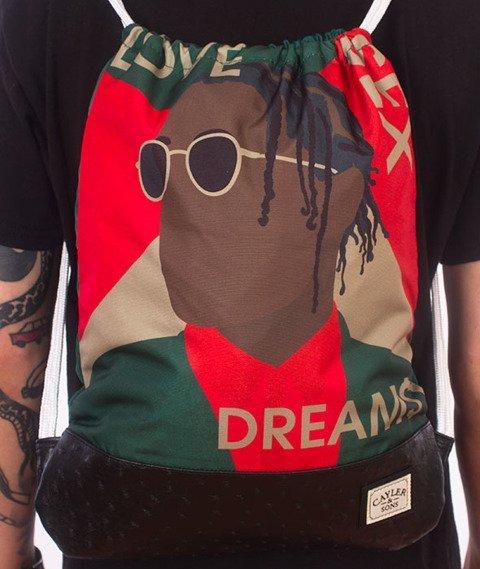 Cayler & Sons-WL Dream$ Gym Bag Green