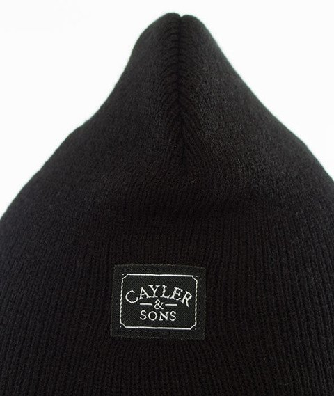 Cayler & Sons-WL In The House Old School Beanie Black
