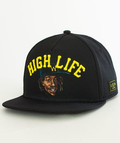 Cayler & Sons-WL Lifted Snapback Black/Yellow