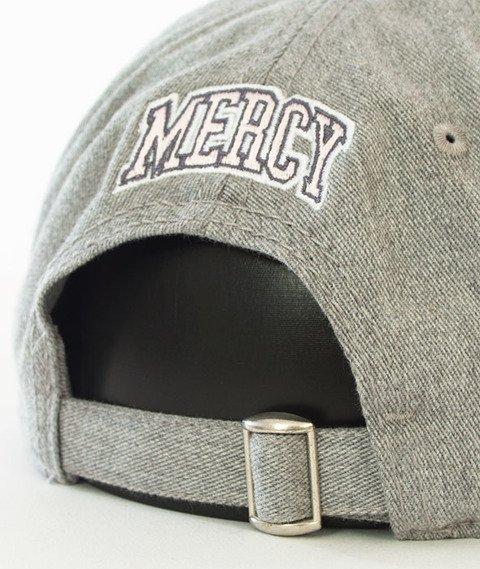 Cayler & Sons-WL Mercy Curved Strapback Grey Heather